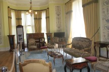 Kylemore Abbey - drawing room